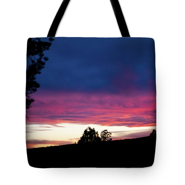 Candy-coated Clouds Tote Bag by Jason Coward