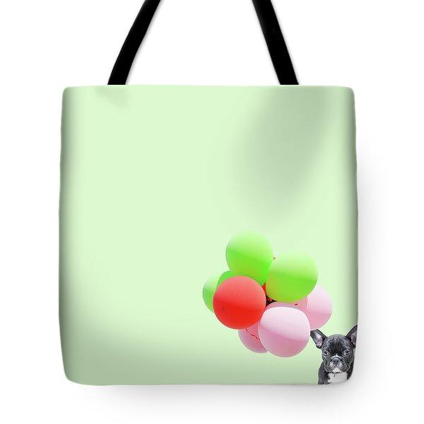 Candy Dog Tote Bag