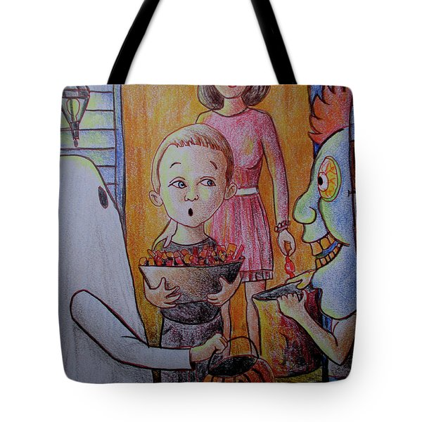 Candy Duty Dan Tote Bag
