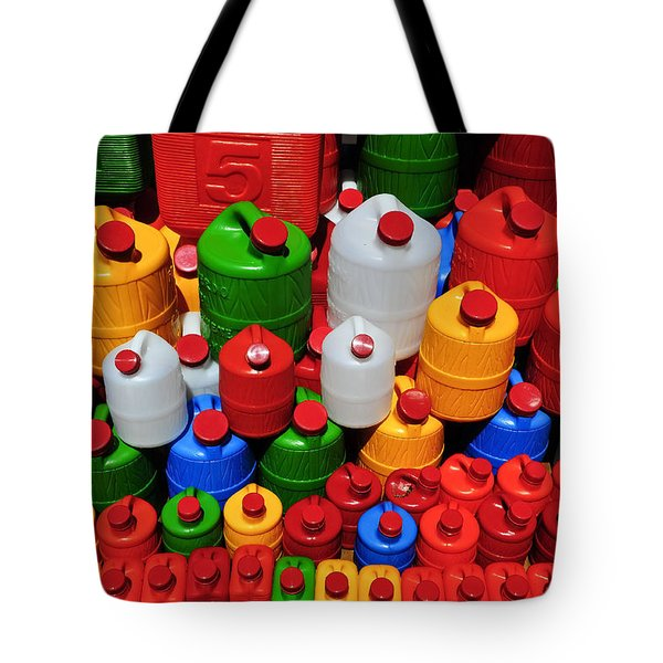 Candy Land Tote Bag by Skip Hunt