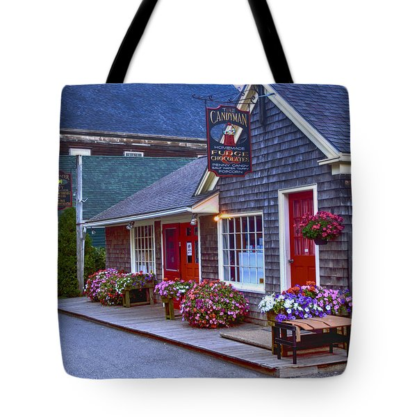 Candy Lane Tote Bag