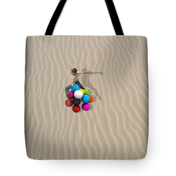 Candy Sand Tote Bag