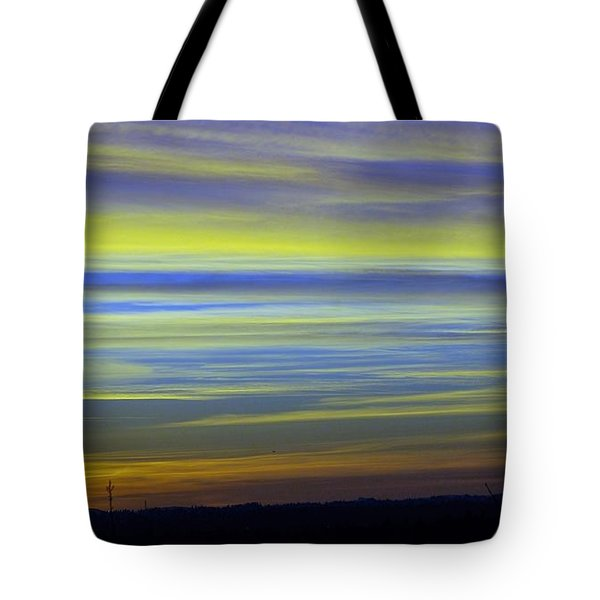 Tote Bag featuring the photograph Candy Sky 1 by Victor K