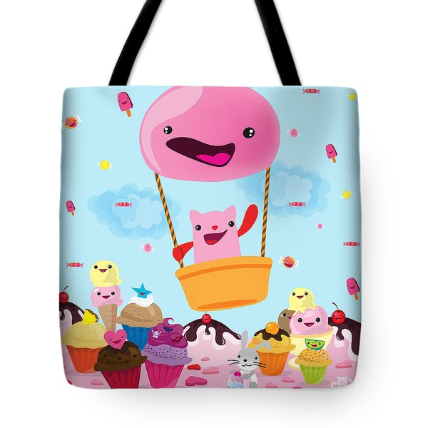 Candy World Tote Bag