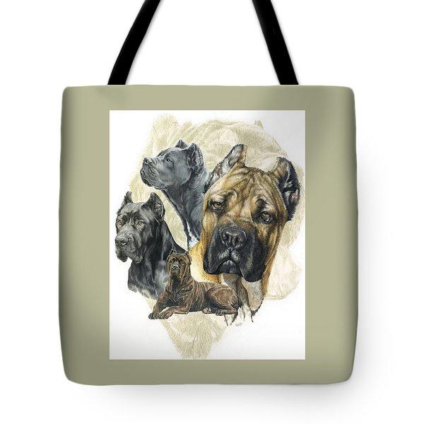 Cane Corso Medley Tote Bag
