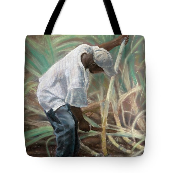 Cane Field Tote Bag