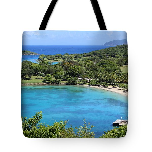 Caneel Bay St. John Tote Bag by Fiona Kennard