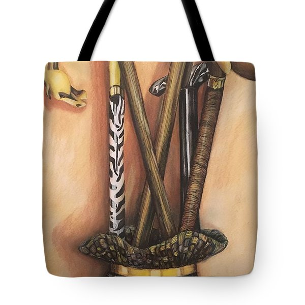 Canes Tote Bag