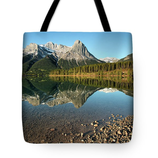Canmore Reflections Tote Bag