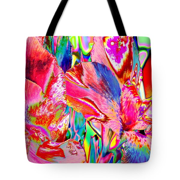 Tote Bag featuring the photograph Canna 2 by M Diane Bonaparte