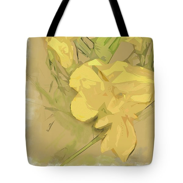 Tote Bag featuring the photograph Canna by Gina Harrison