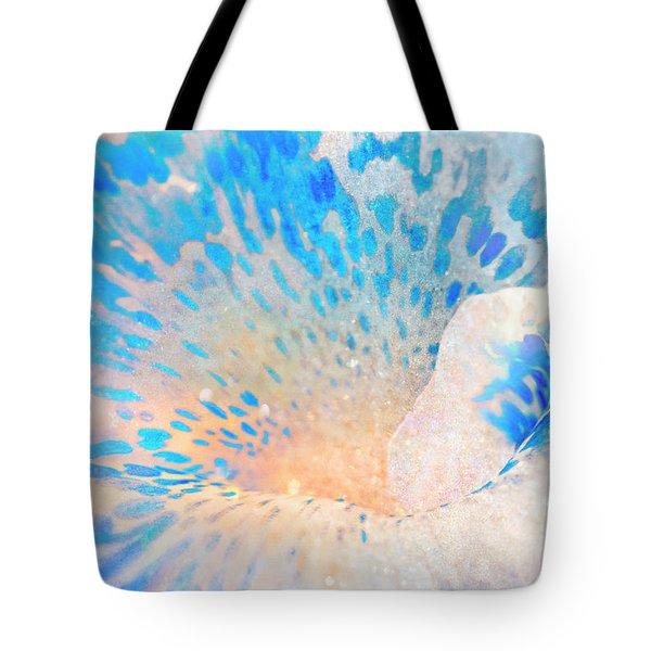 Canna Snow Tote Bag