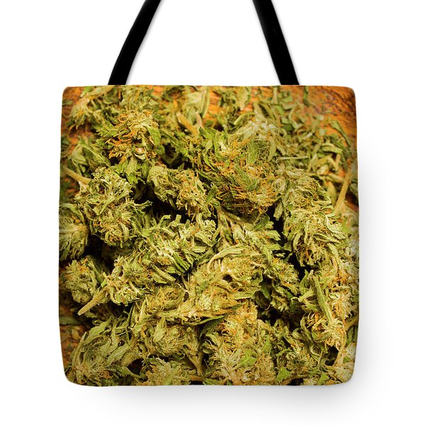 Cannabis Bowl Tote Bag