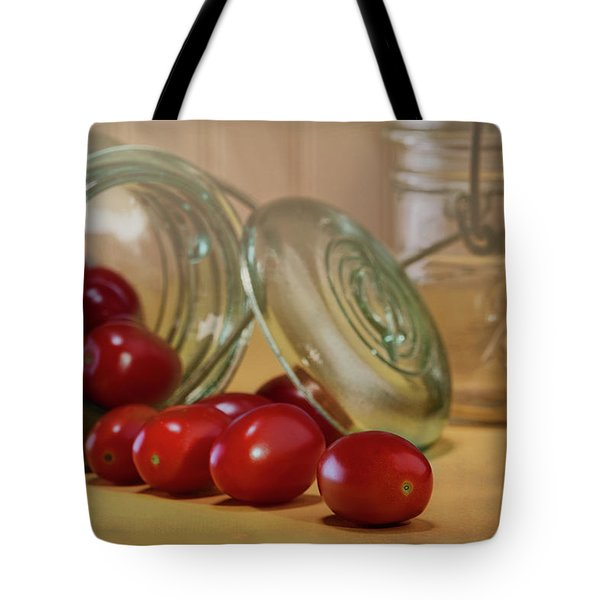 Canned Tomatoes - Kitchen Art Tote Bag