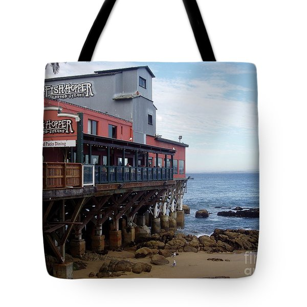 Tote Bag featuring the photograph Cannery Row by Carol  Bradley