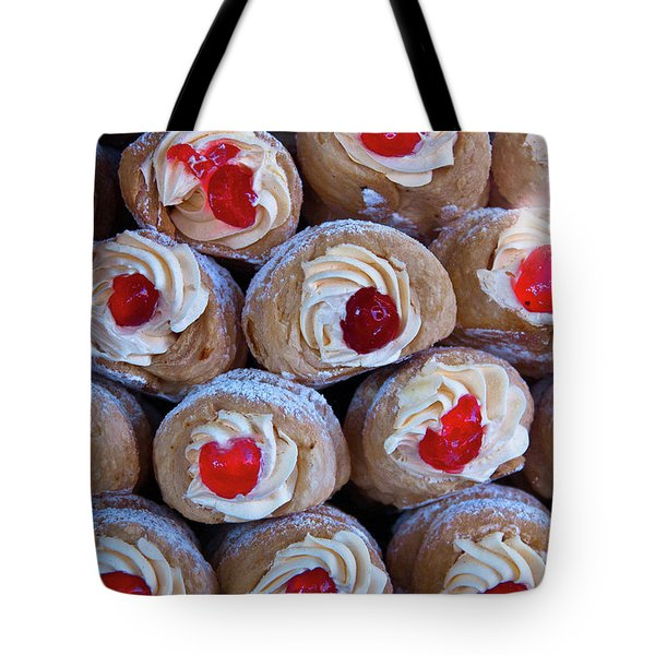 Cannoli Tote Bag by Harry Spitz