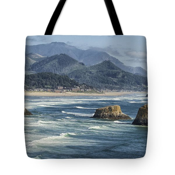 Cannon Beach 0192 Tote Bag by Tom Kelly