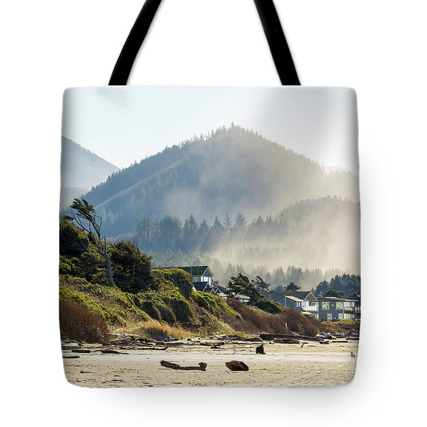 Cannon Beach Oceanfront Vacation Homes Tote Bag