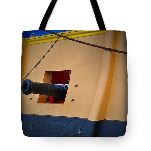Cannon Box Tote Bag