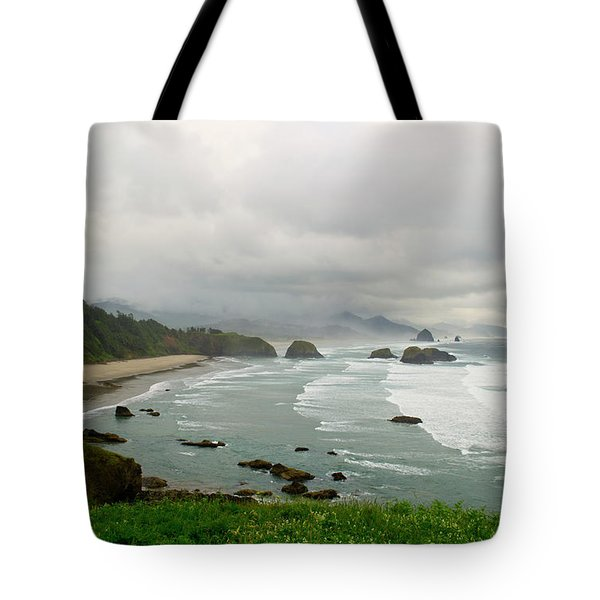 Tote Bag featuring the photograph Cannon Coast by Suzette Kallen