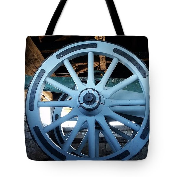 Tote Bag featuring the photograph Cannon by Raymond Earley