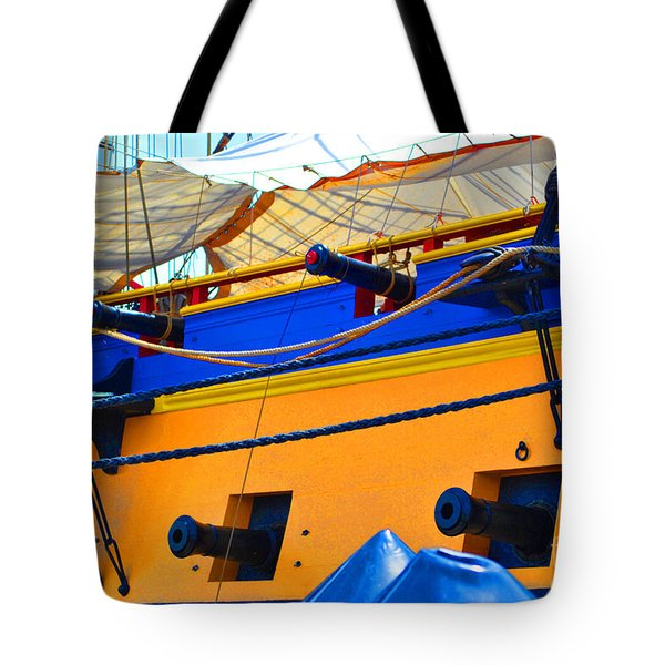 Cannons Of Color Tote Bag