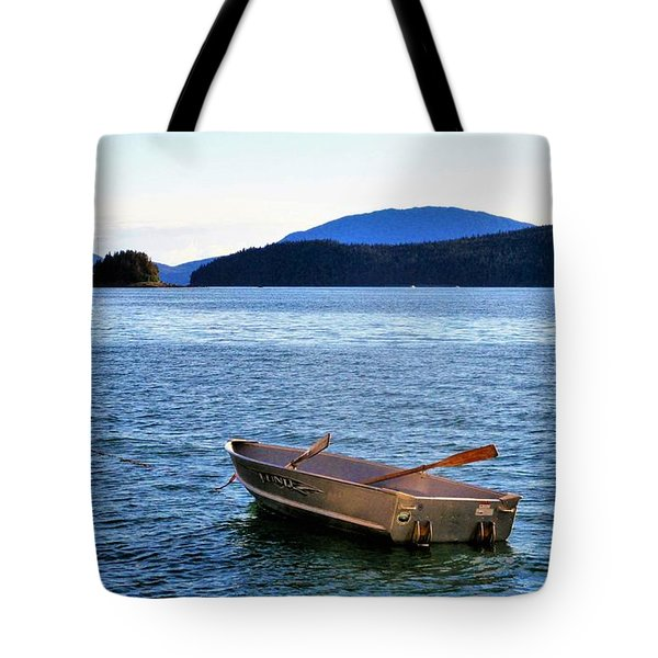 Canoe Tote Bag by Martin Cline