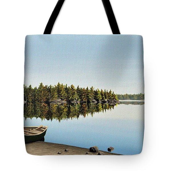Canoe The Massassauga Tote Bag