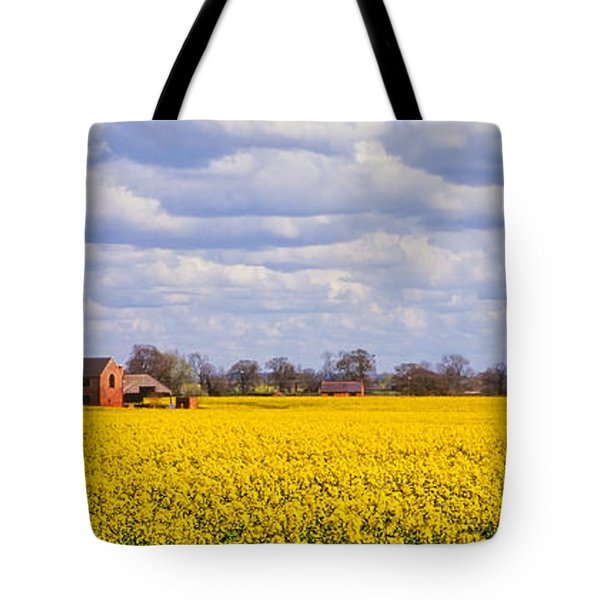 Canola Field Tote Bag by John Edwards