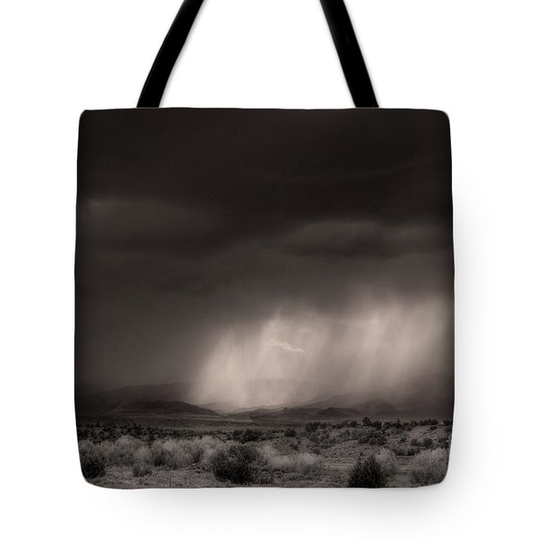 Tote Bag featuring the photograph Canon City Storm by William Fields
