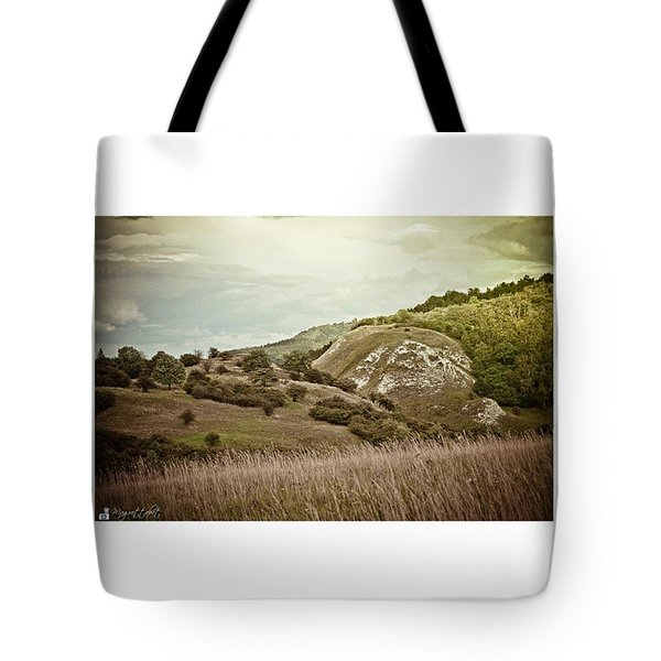 #canon #clouds #sky #kyffhaeuser Tote Bag