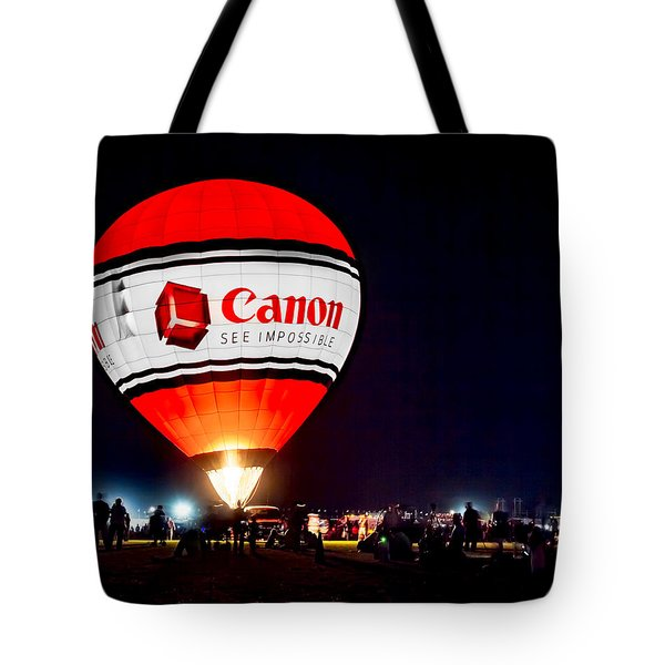Canon - See Impossible - Hot Air Balloon Tote Bag