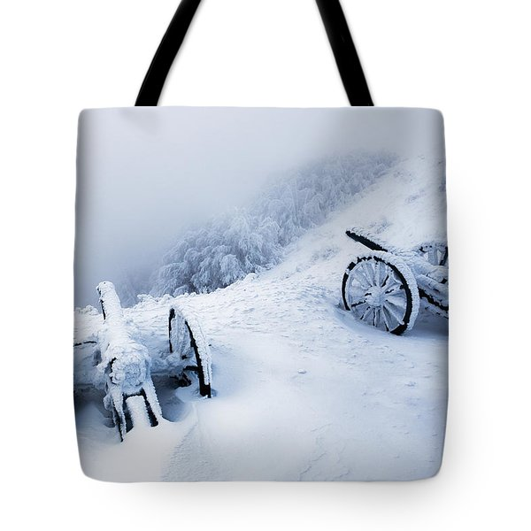 Canons Tote Bag by Evgeni Dinev