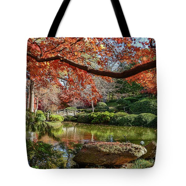 Canopy Of Fire Tote Bag