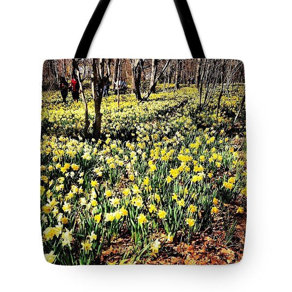 Daffodil Field  Tote Bag