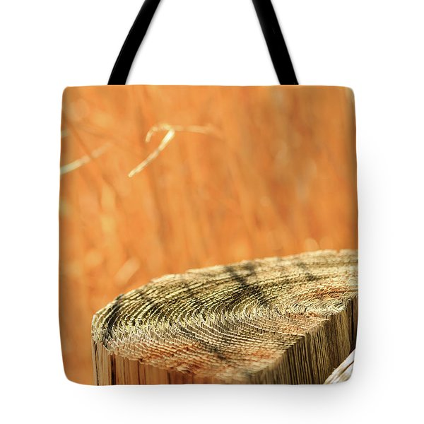 Cantigny Fence Post Tote Bag