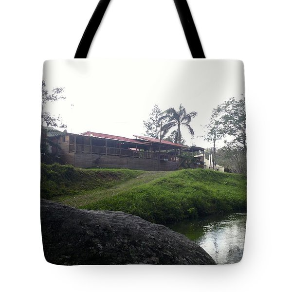 Cantine By The River Tote Bag