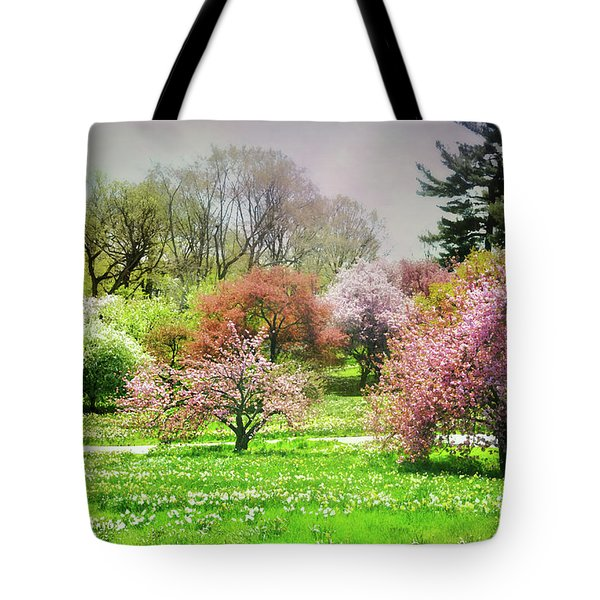Tote Bag featuring the photograph Garden Canvas  by Diana Angstadt