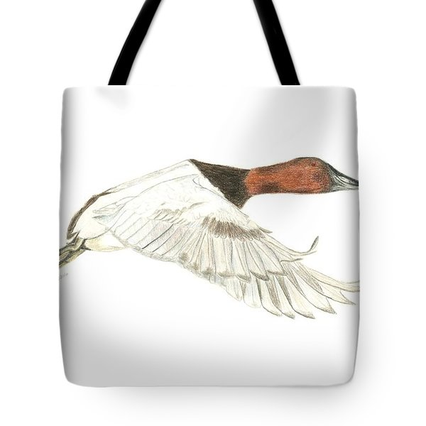 Canvasback Tote Bag