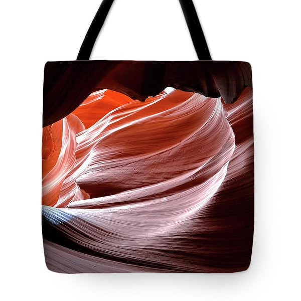 Canyon Abstract 2 Tote Bag