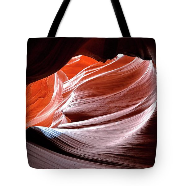 Canyon Abstract 2 Tote Bag