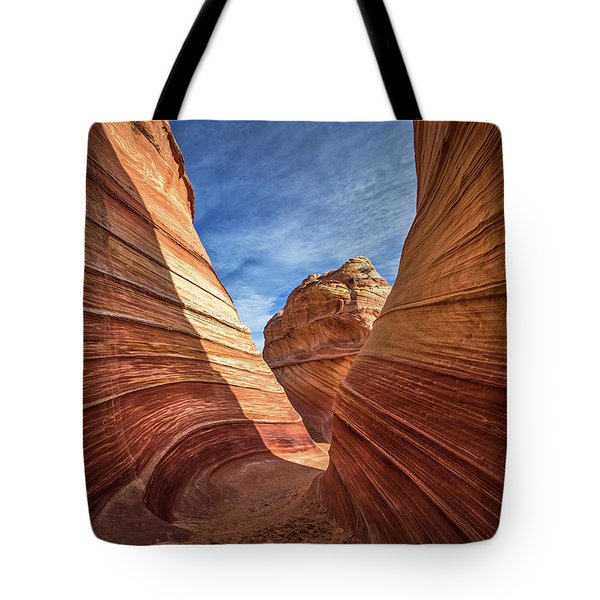 Canyon Atthe Wave Tote Bag