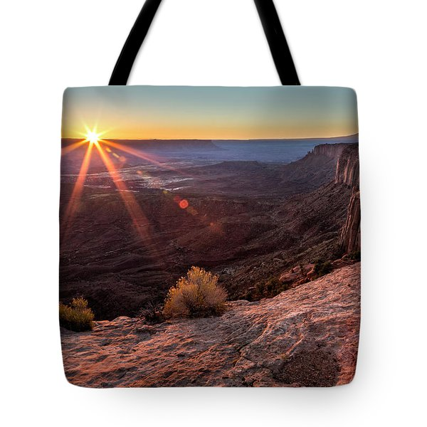 Canyon Country Sunrise Tote Bag