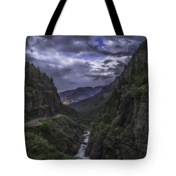 Canyon Creek Sunset Tote Bag