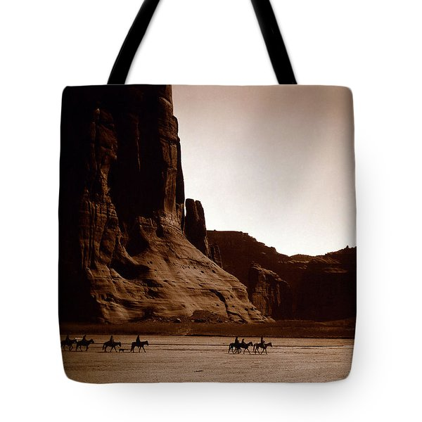 Canyon De Chelly 2c Navajo Tote Bag
