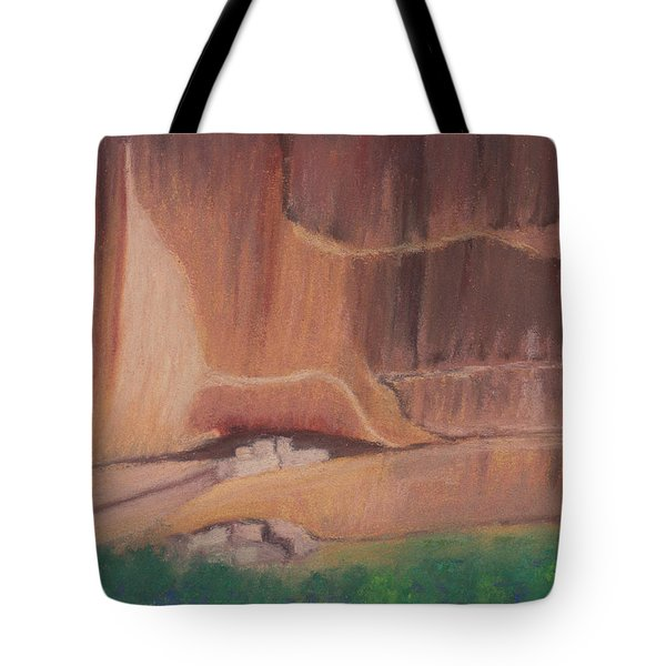 Canyon De Chelly Cliffdwellers #2 Tote Bag
