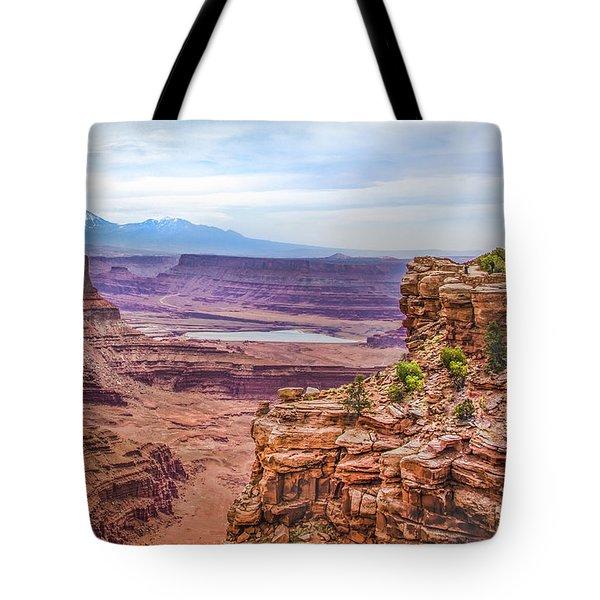 Canyon Landscape Tote Bag
