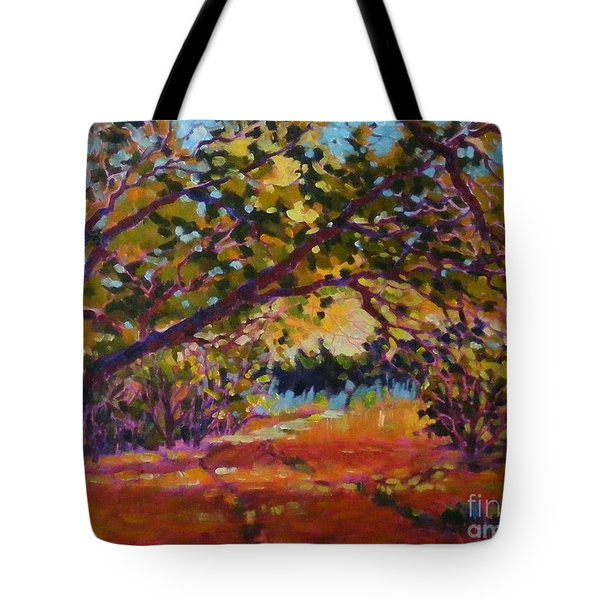 Canyon Light Tote Bag
