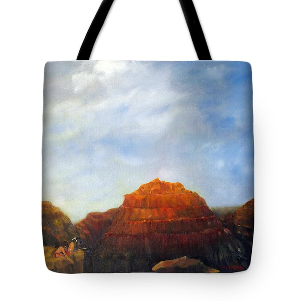 Canyon Overlook Tote Bag