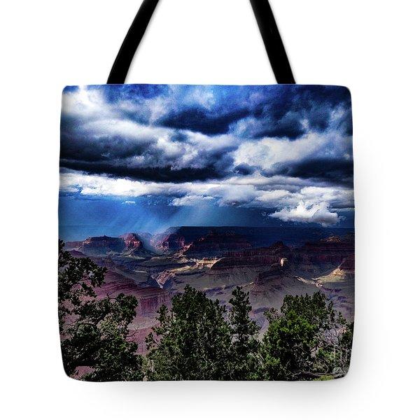 Canyon Rains Tote Bag